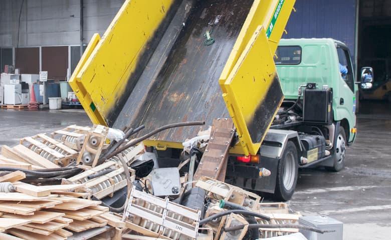 コンテナ貸出/廃棄物の回収